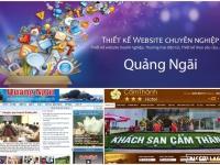 Thiết kế website Quảng Ngãi đẹp và độc đáo, giá cả hợp lí